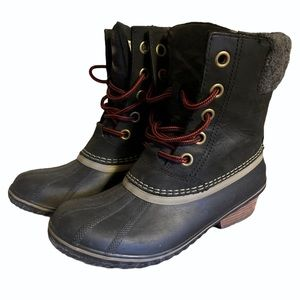 "Sorel ""Slimpack II"" Leather Boots - Women's Size 8"